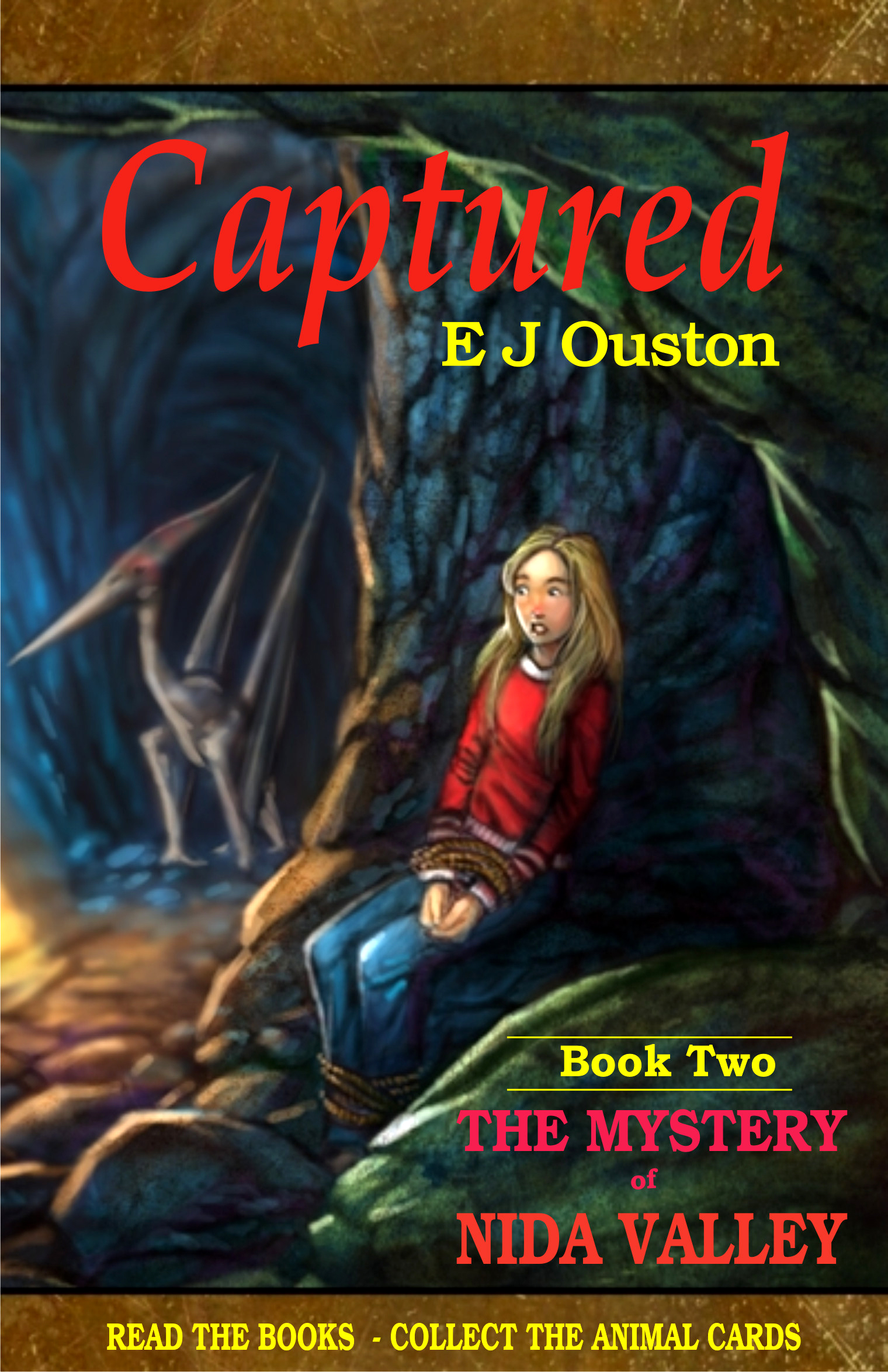 Captured book two in the mystery of nida valley series